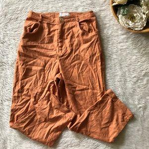 Urban Outfitter Orange Peach Pant